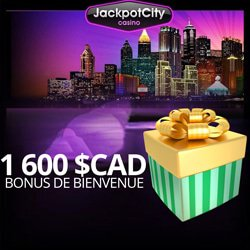 bonus bienvenue jackpot city